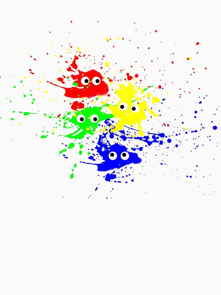 Paint Splat tee by fotokatt