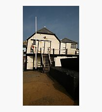 Boat house - Broadstairs Photographic Print