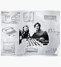 APPLE COMPUTER FIRST PATENT - JOBS & WOZNIAK Poster