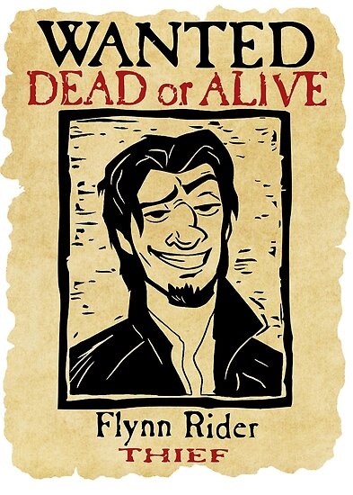 Quot Wanted Flynn Rider Broken Nose Quot Poster By Grumpyboobsart