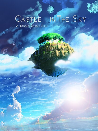 Quot Castle In The Sky Poster Quot Poster By Geozeph Redbubble