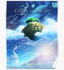 Castle In the Sky Poster Poster