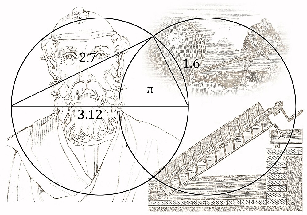 ARCHIMEDES and his PI CONSTANT by Daniel-Hagerman