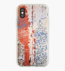 Found Abstract Paint iPhone Case