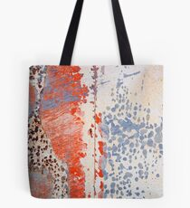 Found Abstract Paint Tote Bag