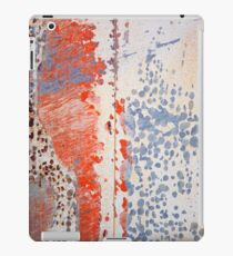 Found Abstract Paint iPad Case/Skin