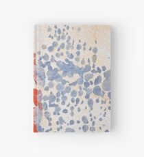 Found Abstract Paint Hardcover Journal