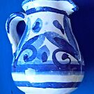 Small blue and white jug by Shulie1