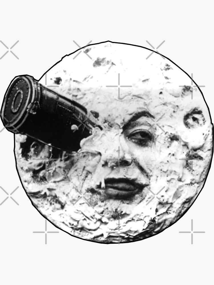 Un viaje a la luna (Le Voyage Dans La Lune) - solo cara de 45thAveArtCo