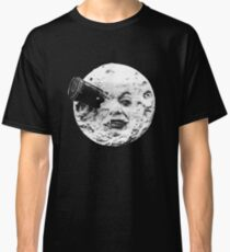 A Trip to the Moon (Le Voyage Dans La Lune) - face only Classic T-Shirt