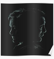 "Hannibal & Will - ""You and I have begun to blur"" Poster"