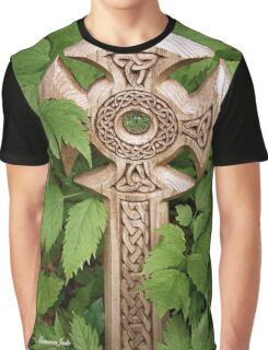 A Celtic Cross for St Patrick's Day Graphic T-Shirt