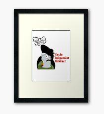 Thinker! Framed Print