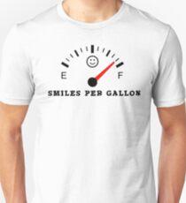 Smiles Per Gallon Unisex T-Shirt