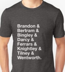 Men of Jane Austen Unisex T-Shirt