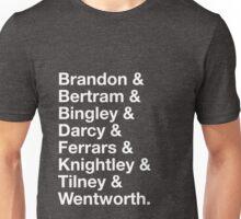 Men of Jane Austen Unisex T-Shirt