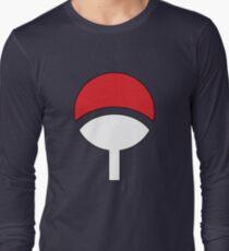 Uchiha Clan Symbol Hood Long Sleeve T-Shirt
