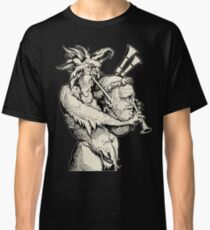 Devil with the Bagpipes Classic T-Shirt