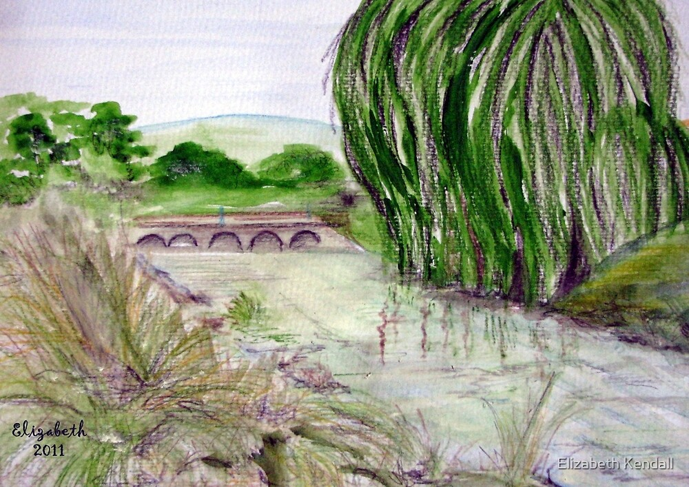 The river runs through it by Elizabeth Kendall