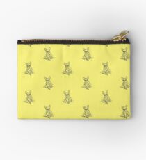Yellow French Studio Pouch