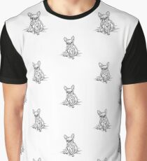 White Frenchie Graphic T-Shirt