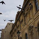 Commotion in the Sky of Paris by Georgia Mizuleva