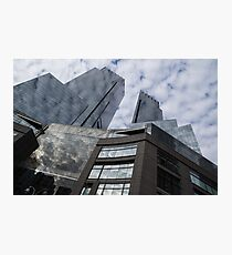 New York Sky and Skyscrapers Photographic Print