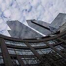Hugging Columbus Circle - Curved New York Skyscrapers by Georgia Mizuleva