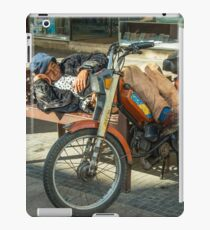 Moped Siesta  iPad Case/Skin