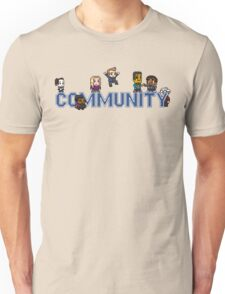 Community Logo with Characters Unisex T-Shirt