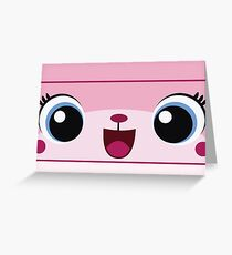 Unikitty Greeting Card