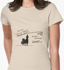 The Old Grist Mill Womens Fitted T-Shirt