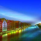 Trondheim by Bente Agerup