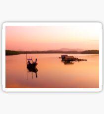 Dawn in Pak Meng, Thailand Sticker