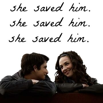 teen wolf - she saved him by zeebanshee