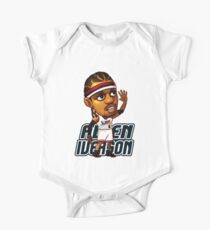 Allen Iverson Cartoon One Piece - Short Sleeve