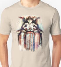 Shinji Evangelion Anime Tra Digital Painting  T-Shirt