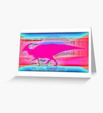 Hadrosaur/Duckbill dinosaur  Greeting Card