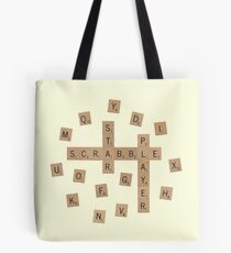 Bolsa de tela Star Scrabble Player