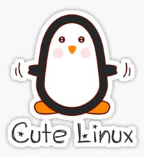 Cute Linux Sticker