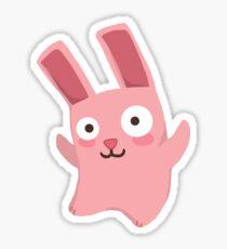 Freezer Bunny Sticker
