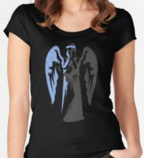 Weeping Angel Women's Fitted Scoop T-Shirt