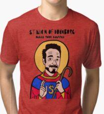 Saint Nick of Duckburg Tri-blend T-Shirt