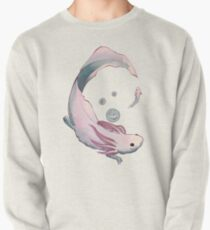 Axolotl growth Pullover