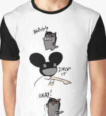 Drop the bass Graphic T-Shirt