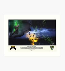 Operation Just Cause Art Print