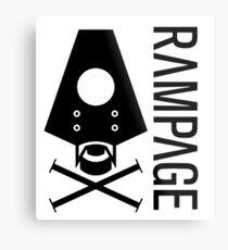 Rampage Metal Print