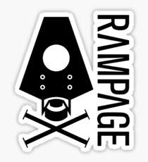 Rampage Sticker
