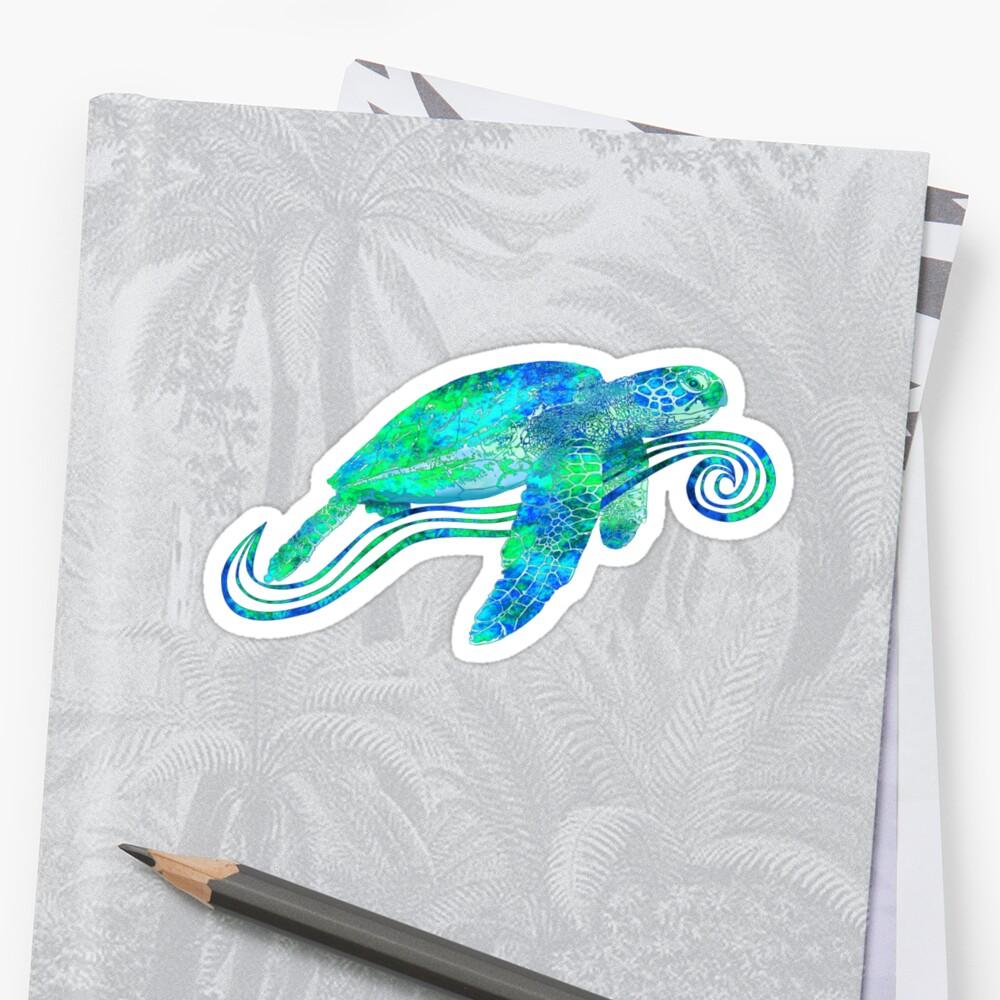 Sea Turtle by BailoutIsland