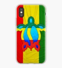 Rasta Honu iPhone-Hülle & Cover